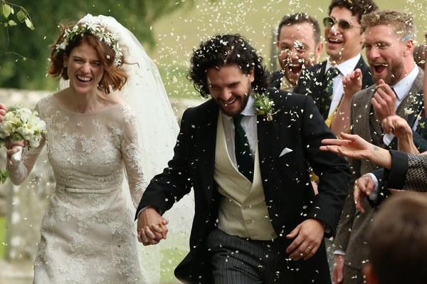 Aktorzy Z Gry O Tron Już Po ślubie Gwiazdy Stylpl Twoja