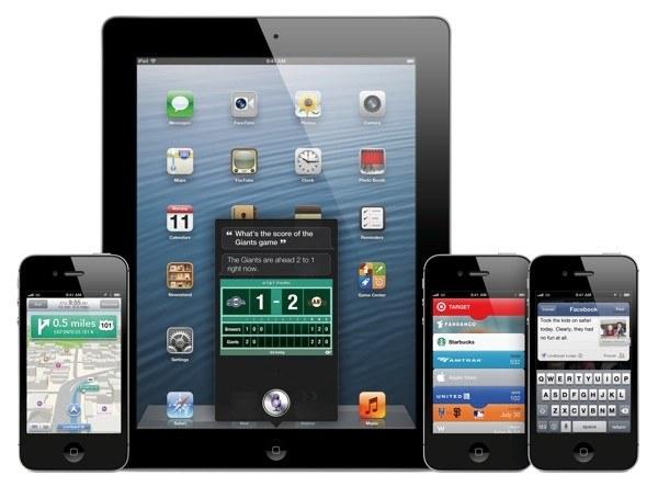Aktualizacja iOS 6.0.1 już niebawem /materiały prasowe