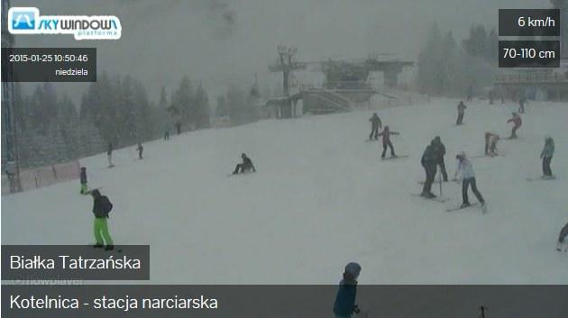 Aktualny widok - Białka Tatrzańska /skywindows.net /