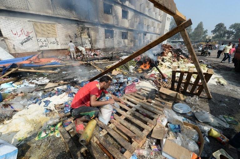 """""""Akty przemocy, do których doszło w środę w Egipcie, są godne ubolewania"""" /AFP"""