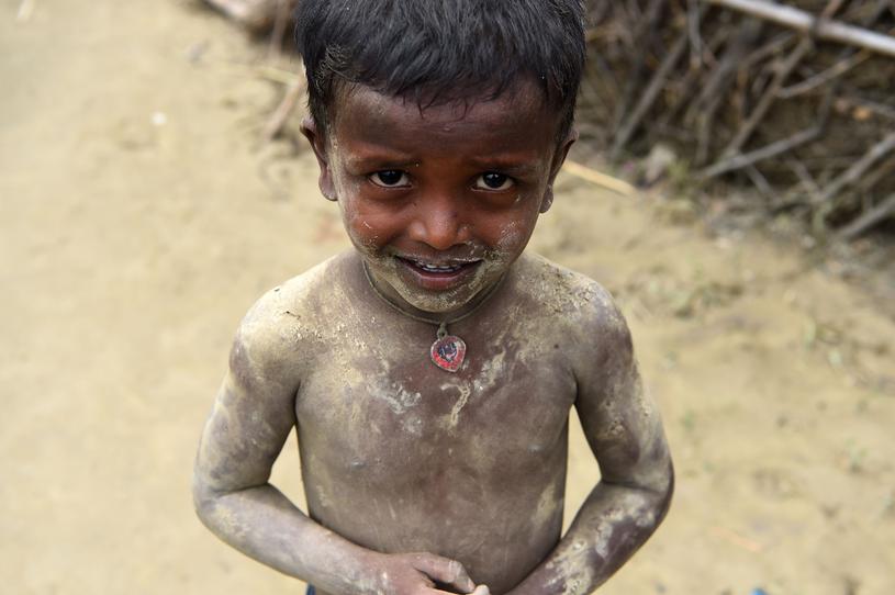 Aktywiści lobbują za wyeliminowaniem pracy dzieci /PRAKASH MATHEMA/AFP /East News