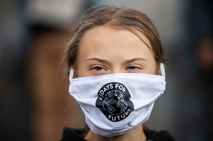 Aktywistka klimatyczna Greta Thunberg /JONATHAN NACKSTRAND /AFP