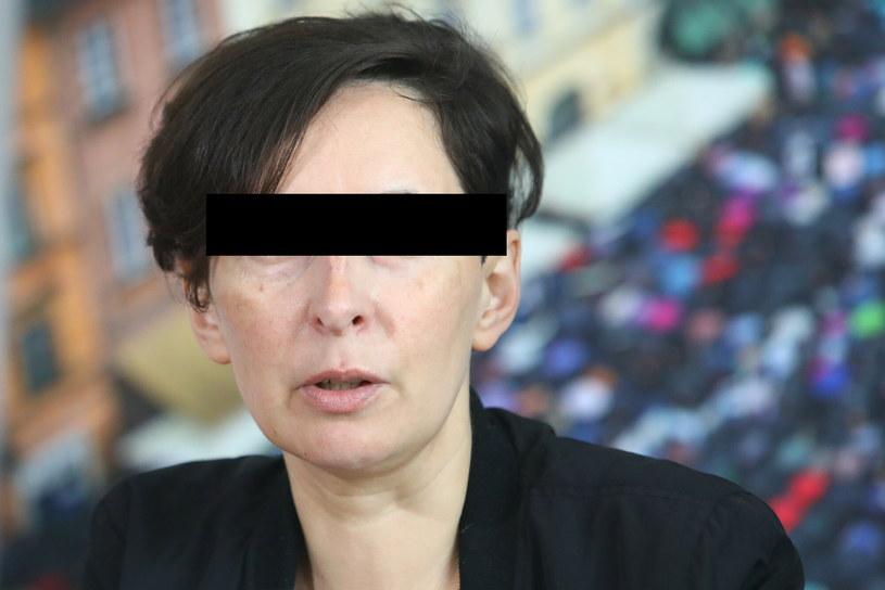 Aktywistka Strajku Kobiet Klementyna S. oskarżona m.in. o zniszczenie zabytku /Tomasz Jastrzebowski/REPORTER /East News
