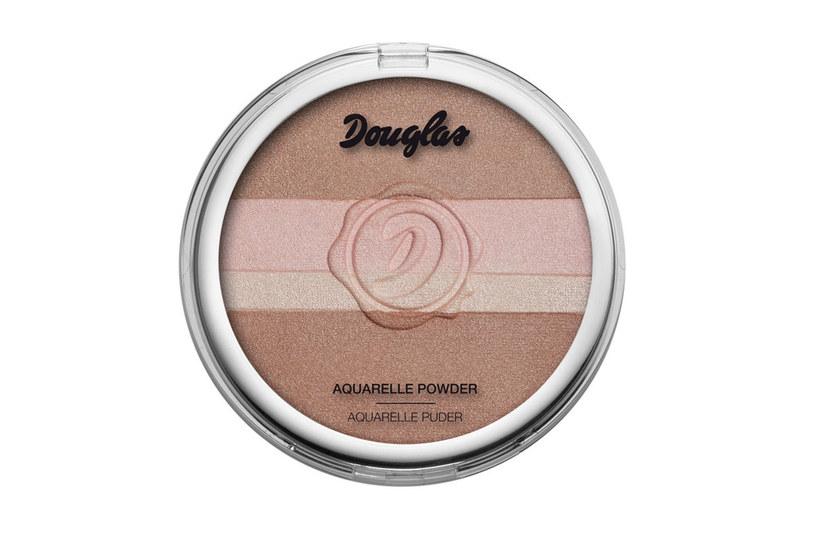 Akwarelowy puder do twarzy Douglas Make up /materiały prasowe