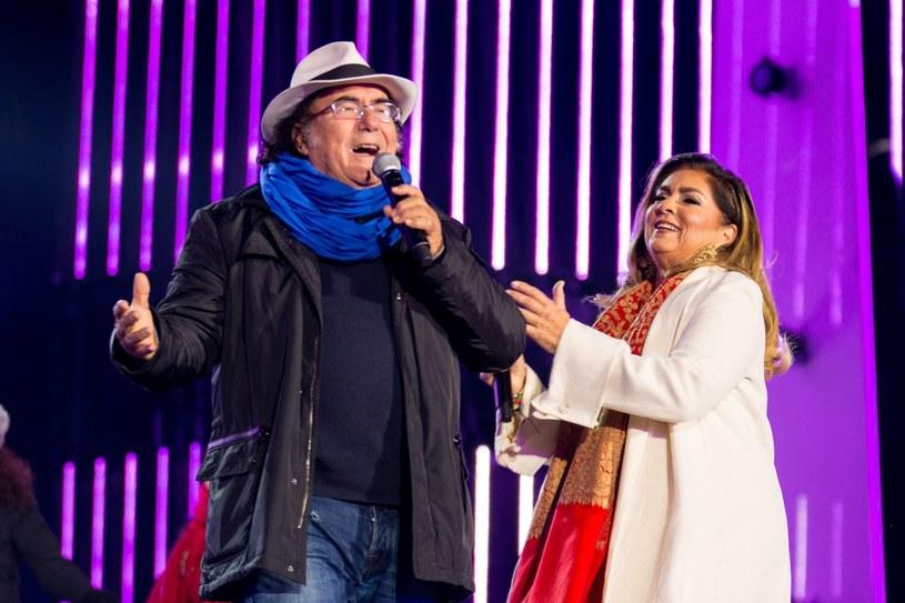 Al Bano i Romina Power podczas sylwestra w Zakopanem /Piotr Korczak /Reporter
