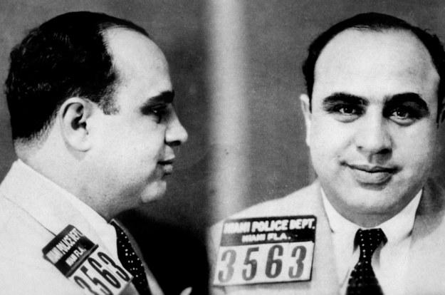 Al Capone /TIPS/antique research centre /PAP/Photoshot