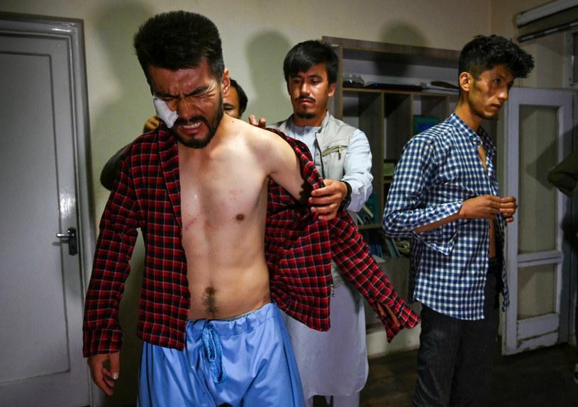 Al-Dżazira: dwaj afgańscy dziennikarze torturowani w areszcie przez talibów /WAKIL KOHSAR/AFP/Afghanistan-conflict-journalists', Focus by Emmanuel Duparcq /East News