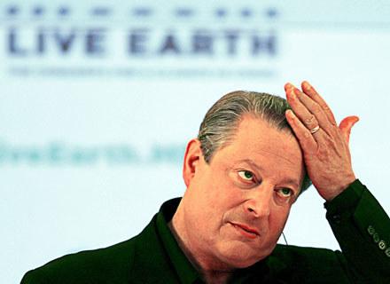 Al Gore ma coraz więcej powodów do zmartwienia /arch. AFP