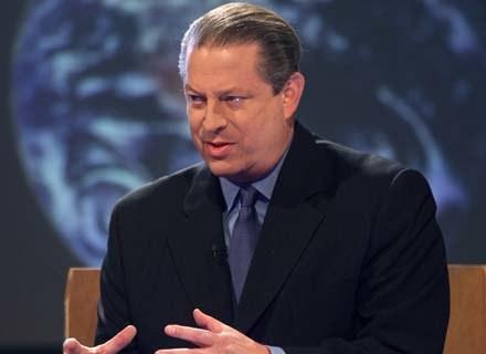 Al Gore nagłaśnia problem globalnego ocieplenia - fot. MJ Kim /Getty Images/Flash Press Media