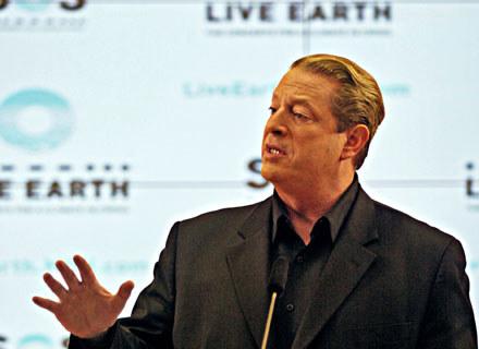 Al Gore, pomyslodawca Live Earth /arch. AFP