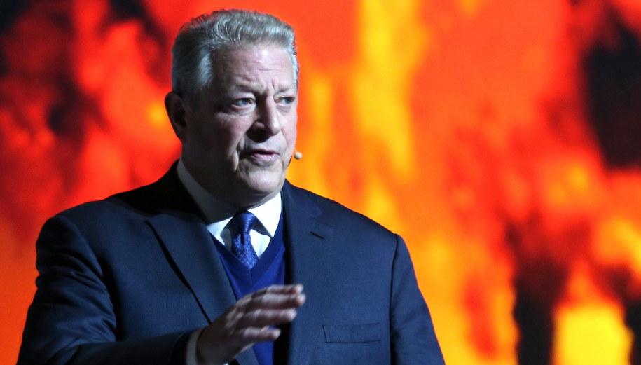 Al Gore / Andrzej Grygiel    /PAP