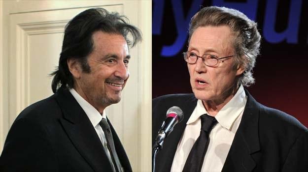 Al Pacino i Christopher Walken zagrają starzejących się przestępców /Getty Images/Flash Press Media