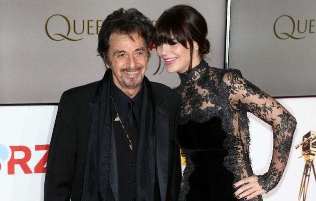 Al Pacino i Lucila Sola /Andreas Rentz /Getty Images