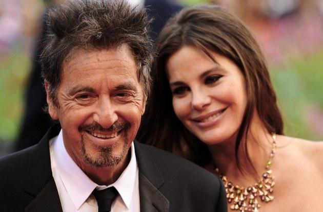 Al Pacino z kochanką /- /East News