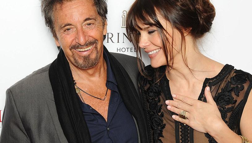 Al Pacino z narzeczoną /Dave Hogan /Getty Images