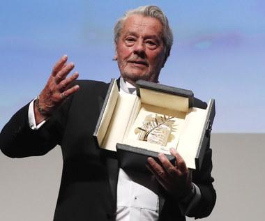 Alain Delon odebrał Honorową Złotą Palmę za całokształt twórczości