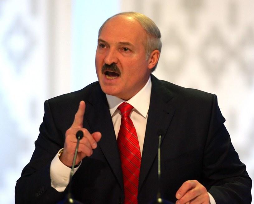 """Alaksandr Łukaszenka: """"Unia Europejska obecnie jest pierwszym naszym partnerem handlowym"""" / TATYANA ZENKOVICH    /PAP/EPA"""
