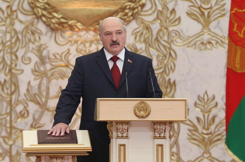 Alaksandr Łukaszenka /NIKOLAI PETROV / BELTA POOL /AFP