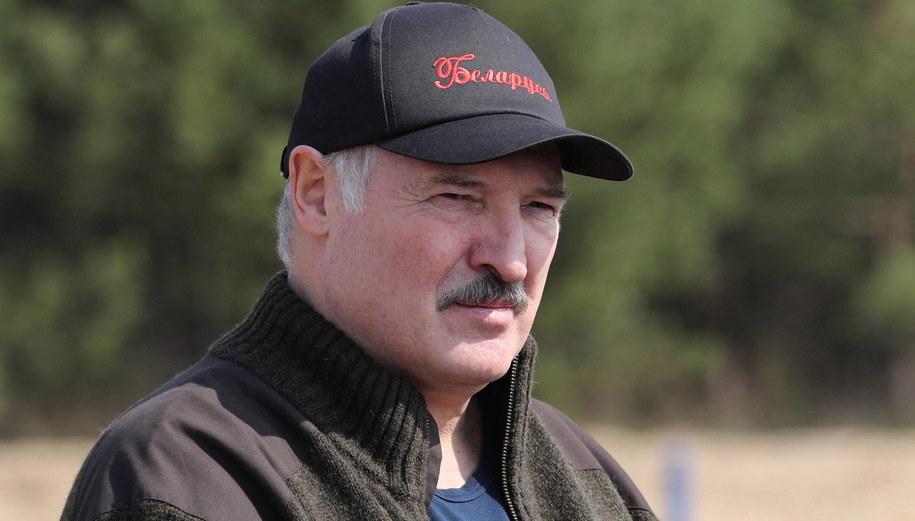 Alaksandr Łukaszenka /MAKSIM GUCHEK / POOL /PAP/EPA