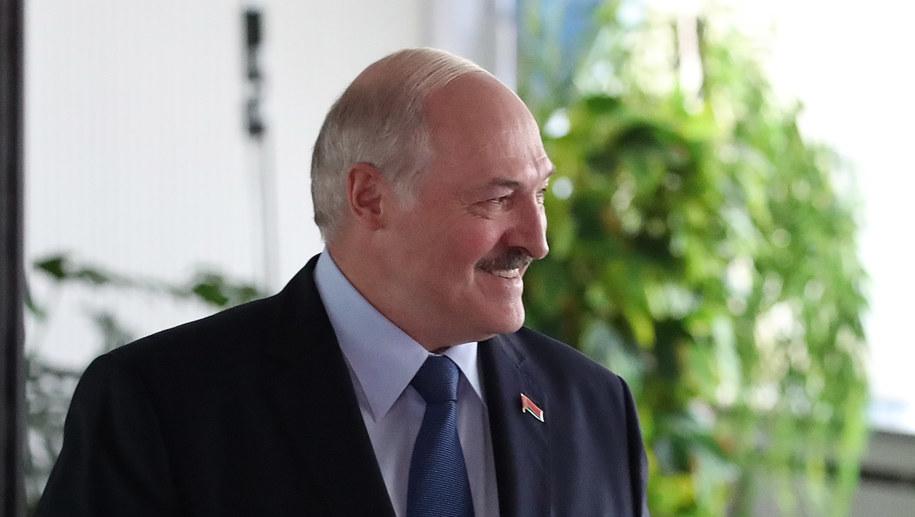 Alaksandr Łukaszenka /TATYANA ZENKOVICH  /PAP/EPA