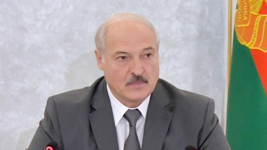 Alaksandr Łukaszenka /ANDREI STASEVICH / BELTA / POOL /PAP/EPA
