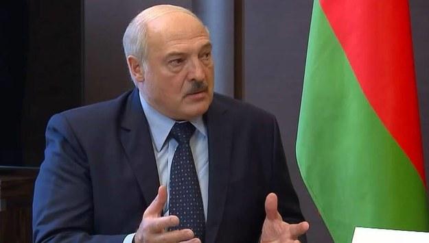 Alaksandr Łukaszenka /TASS /PAP/EPA