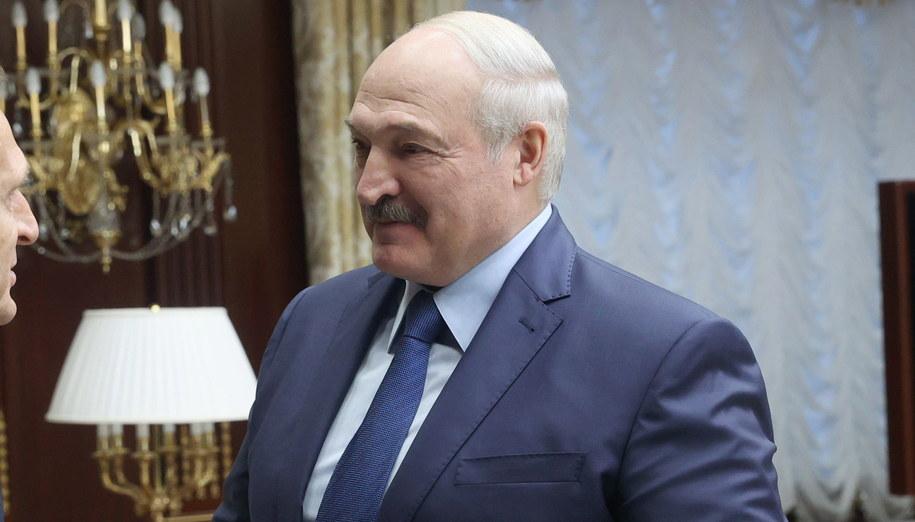 Alaksandr Łukaszenka /Nikolai Petrov/TASS /PAP/EPA