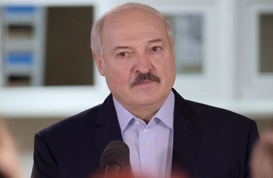 Alaksandr Łukaszenka /MAXIM GUCHEK / POOL /PAP/EPA