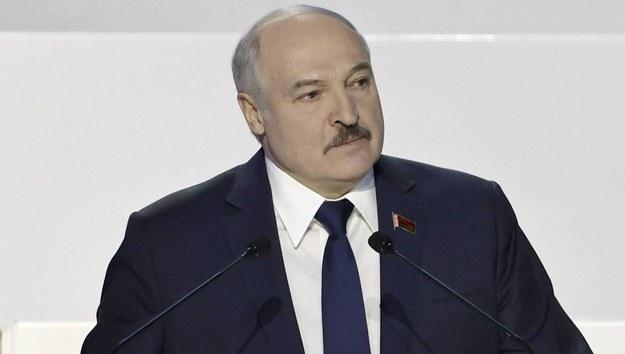 Alaksandr Łukaszenka /SERGEI SHELEG / BELTA POOL /PAP/EPA