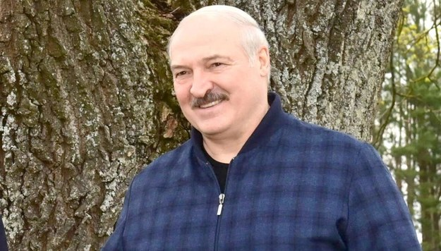 Alaksandr Łukaszenka /ANDREI STASEVICH / BELTA /PAP/EPA