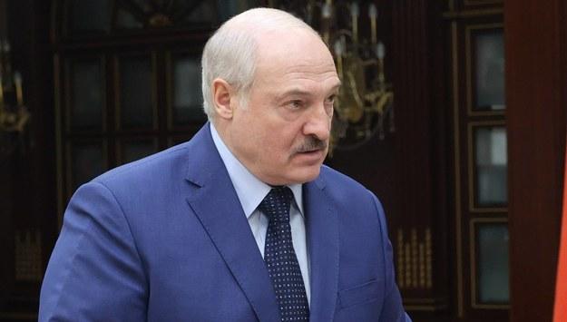 Alaksandr Łukaszenka /NIKOLAI PETROV / POOL /PAP/EPA