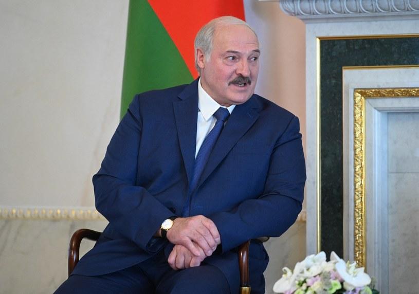 Alaksandr Łukaszenka /ALEXEY NIKOLSKY / SPUTNIK   /AFP