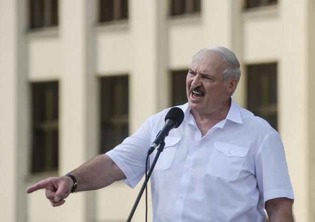 Alaksandr Lukashenka / YAUHEN YERCHAK / PAP / EPA