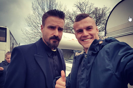 Alan Kwieciński i Piotr Stramowski /Instagram