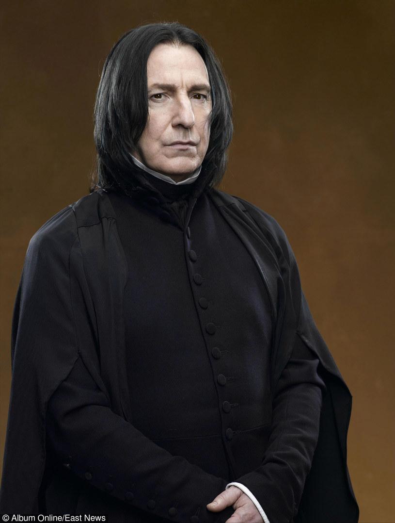 Alan Rickman w kostiumie Sewerusa Snape'a /East News
