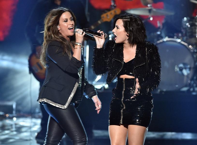 Alanis Morissette i Demi Lovato /Kevin Winter /Getty Images