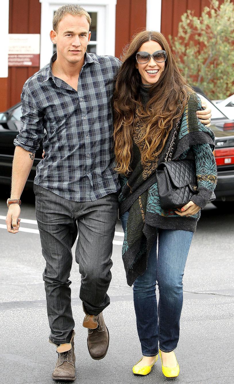 Alanis Morissette z mężem /GC Images /Getty Images