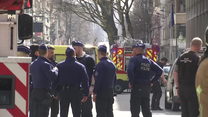 Alarm bombowy w Brukseli