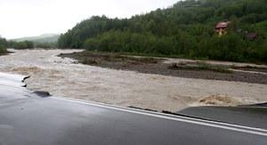 Alarm powodziowy w świętokrzyskim: Wody w Wiśle ciągle przybywa