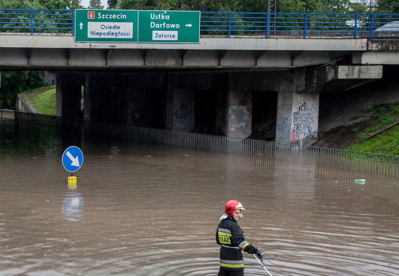 Alarm przeciwpowodziowy w Słupsku (zdjęcie ilustracyjne) /Łukasz Capar /East News