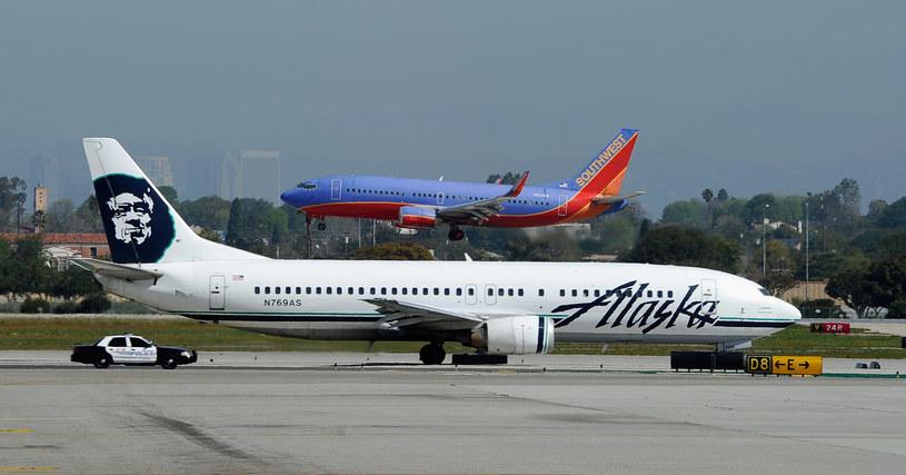 Alaska Airlines - zdjęcie ilustracyjne /AFP