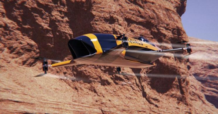 Alauda Airspeeder /materiały prasowe