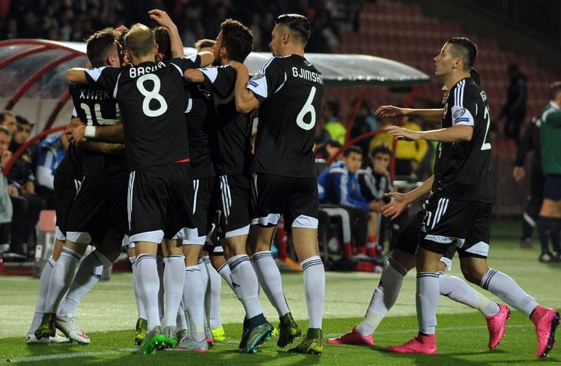Albania po raz pierwszy w historii awansowała na mistrzostwa Europy /AFP