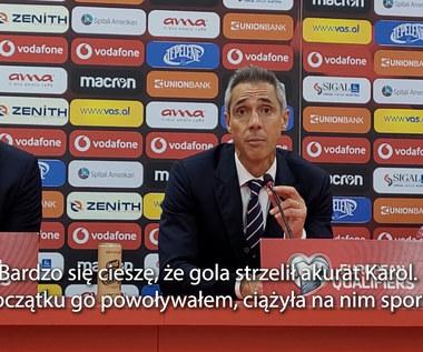Albania - Polska. Sousa: Kluczem była zwycięska mentalność zespołu. WIDEO