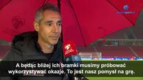 Albania - Polska. Trener Paulo Sousa: Albańczycy są bardzo dobrze zorganizowani w defensywie WIDEO (Polsat sport)