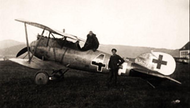 Albatros D.Va należący do Jagdstaffel 31 /Bundesarchiv /materiały prasowe
