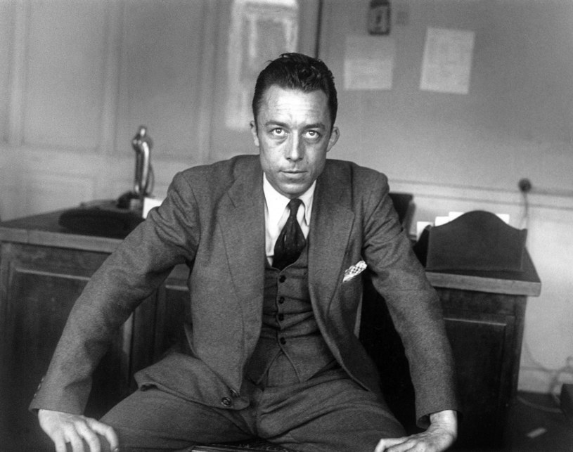 Albert Camus /Rene Saint Paul /Agencja FORUM