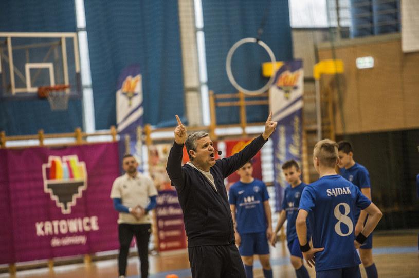 Albert Capellas podczas zajęć w Katowicach. Fot. Justyna Faber/Faber Photography /