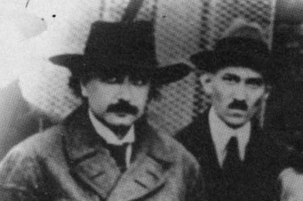 Albert Einstein i Nikola Tesla - jedni z ojców Projektu Tęcza (Fot. Edison Tech Center) /Internet