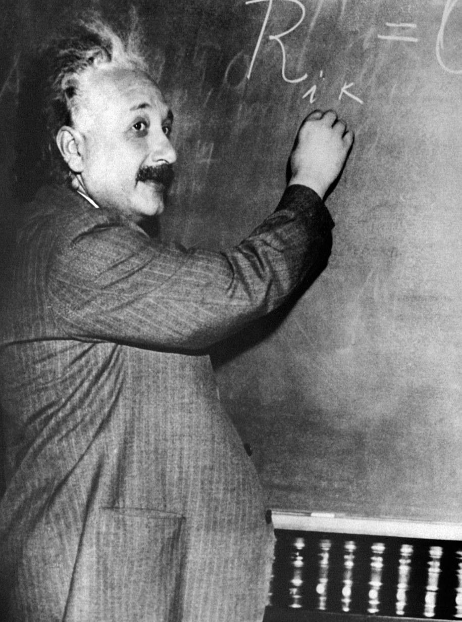 Albert Einstein /Photoshot    /PAP